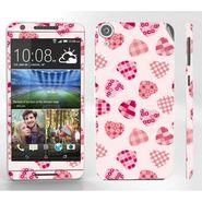 Snooky 41404 Digital Print Mobile Skin Sticker For HTC Desire 820 - White