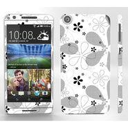 Snooky 41408 Digital Print Mobile Skin Sticker For HTC Desire 820 - White