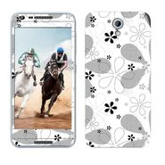 Snooky 41464 Digital Print Mobile Skin Sticker For HTC Desire 820 mini - White