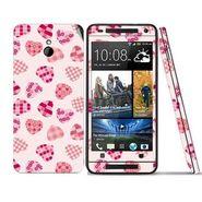 Snooky 41502 Digital Print Mobile Skin Sticker For HTC One mini - White