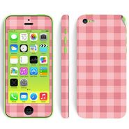 Snooky 41528 Digital Print Mobile Skin Sticker For Apple Iphone 5C - Pink