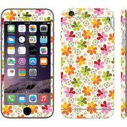 Snooky 41538 Digital Print Mobile Skin Sticker For Apple Iphone 6 - White