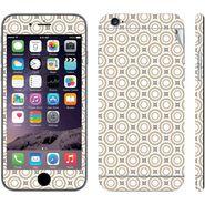 Snooky 41551 Digital Print Mobile Skin Sticker For Apple Iphone 6 Plus - Brown
