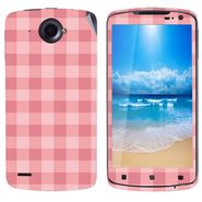 Snooky 41598 Digital Print Mobile Skin Sticker For Lenovo S920 - Pink