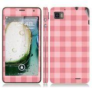 Snooky 41612 Digital Print Mobile Skin Sticker For Lenovo K860 - Pink