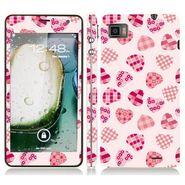 Snooky 41614 Digital Print Mobile Skin Sticker For Lenovo K860 - White