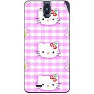 Snooky 41758 Digital Print Mobile Skin Sticker For Lava Iris 550Q - Pink