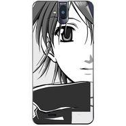 Snooky 41761 Digital Print Mobile Skin Sticker For Lava Iris 550Q - Grey