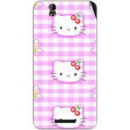 Snooky 41794 Digital Print Mobile Skin Sticker For Lava Iris X1 - Pink