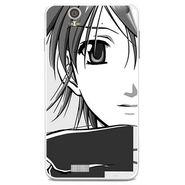 Snooky 41809 Digital Print Mobile Skin Sticker For Lava Iris X5 - Grey