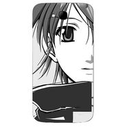 Snooky 42032 Digital Print Mobile Skin Sticker For Intex Aqua i15 - Grey