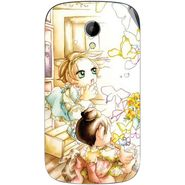 Snooky 42225 Digital Print Mobile Skin Sticker For Intex Aqua T2 - White