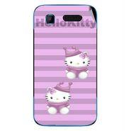 Snooky 42238 Digital Print Mobile Skin Sticker For Intex Aqua T3 - Pink