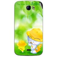 Snooky 46490 Digital Print Mobile Skin Sticker For Micromax Canvas 2 A110 - Green
