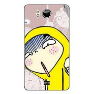 Snooky 46545 Digital Print Mobile Skin Sticker For Micromax Canvas DOODLE A111 - Multicolour