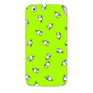 Snooky 46754 Digital Print Mobile Skin Sticker For Micromax Canvas 4 A210 - Green