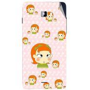 Snooky 46931 Digital Print Mobile Skin Sticker For Micromax Canvas Nitro A311 - Orange