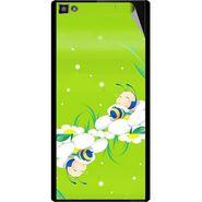 Snooky 47098 Digital Print Mobile Skin Sticker For Xolo Hive 8X-1000 - Green