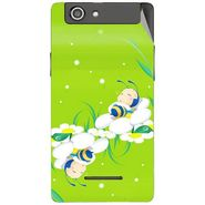 Snooky 47188 Digital Print Mobile Skin Sticker For Xolo A500s - Green