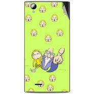 Snooky 47345 Digital Print Mobile Skin Sticker For Xolo A600 - Green