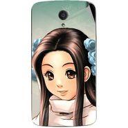 Snooky 47414 Digital Print Mobile Skin Sticker For Xolo Omega 5.0 - Multicolour