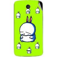 Snooky 47421 Digital Print Mobile Skin Sticker For Xolo Omega 5.0 - Green