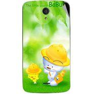 Snooky 47449 Digital Print Mobile Skin Sticker For Xolo Omega 5.5 - Green