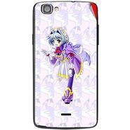 Snooky 47498 Digital Print Mobile Skin Sticker For Xolo One - Purple