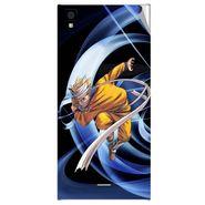 Snooky 47550 Digital Print Mobile Skin Sticker For Xolo Q600s - Blue