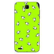 Snooky 47681 Digital Print Mobile Skin Sticker For Xolo Q800 - Green