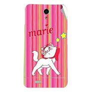 Snooky 47712 Digital Print Mobile Skin Sticker For Xolo Q900 - Pink