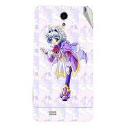 Snooky 47722 Digital Print Mobile Skin Sticker For Xolo Q900 - Purple