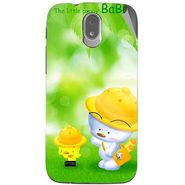 Snooky 47993 Digital Print Mobile Skin Sticker For Xolo Play T1000 - Green