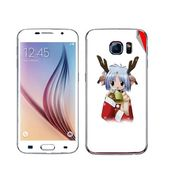 Snooky 48231 Digital Print Mobile Skin Sticker For Samsung Galaxy S6 - White