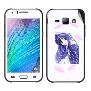 Snooky 48333 Digital Print Mobile Skin Sticker For Samsung Galaxy J1 - White