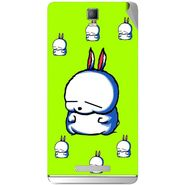 Snooky 48348 Digital Print Mobile Skin Sticker For Lava Iris Fuel 50 - Green