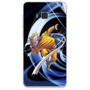 Snooky 48413 Digital Print Mobile Skin Sticker For Lava Iris 406Q - Blue