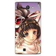 Snooky 48436 Digital Print Mobile Skin Sticker For Lava Iris 456 - Multicolour
