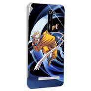Snooky 48509 Digital Print Mobile Skin Sticker For Lava Iris 503 - Blue