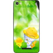 Snooky 48632 Digital Print Mobile Skin Sticker For Lava Iris X8 - Green