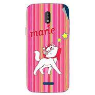 Snooky 48671 Digital Print Mobile Skin Sticker For Lava Iris 450 - Pink