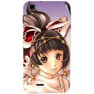 Snooky 48724 Digital Print Mobile Skin Sticker For Lava Iris 405 Plus - Multicolour