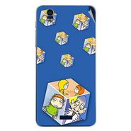 Snooky 48782 Digital Print Mobile Skin Sticker For Lava Iris Pro 20 - Blue