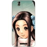 Snooky 48789 Digital Print Mobile Skin Sticker For Lava Iris X1 - Multicolour