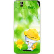 Snooky 48792 Digital Print Mobile Skin Sticker For Lava Iris X1 - Green