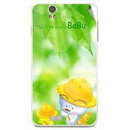 Snooky 48824 Digital Print Mobile Skin Sticker For Lava Iris X5 - Green