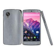 Snooky 18315 Mobile Skin Sticker For Lg Google Nexus 5 - Silver