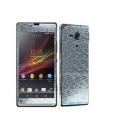 Snooky 18322 Mobile Skin Sticker For Sony Xperia Sp M35h C5302 - Silver