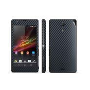 Snooky 20487 Mobile Skin Sticker For Sony Xperia Zr / M39h - Black