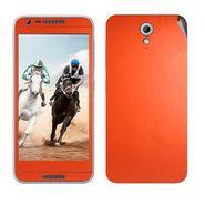 Snooky 20570 Mobile Skin Sticker For HTC Desire 820 mini - Orange